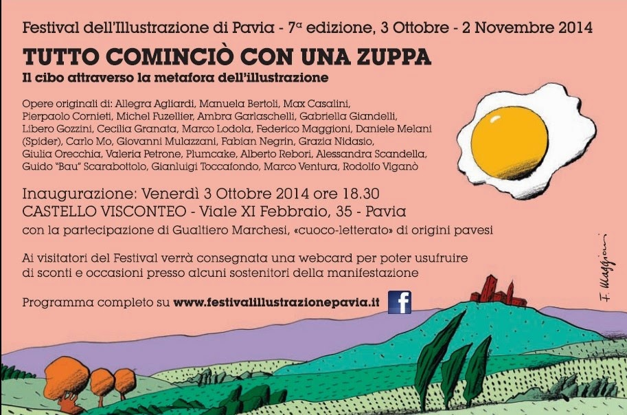 Festival of Illustration in Pavia, Italy