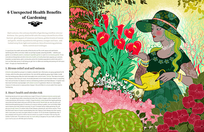 The physical benefits of gardening
