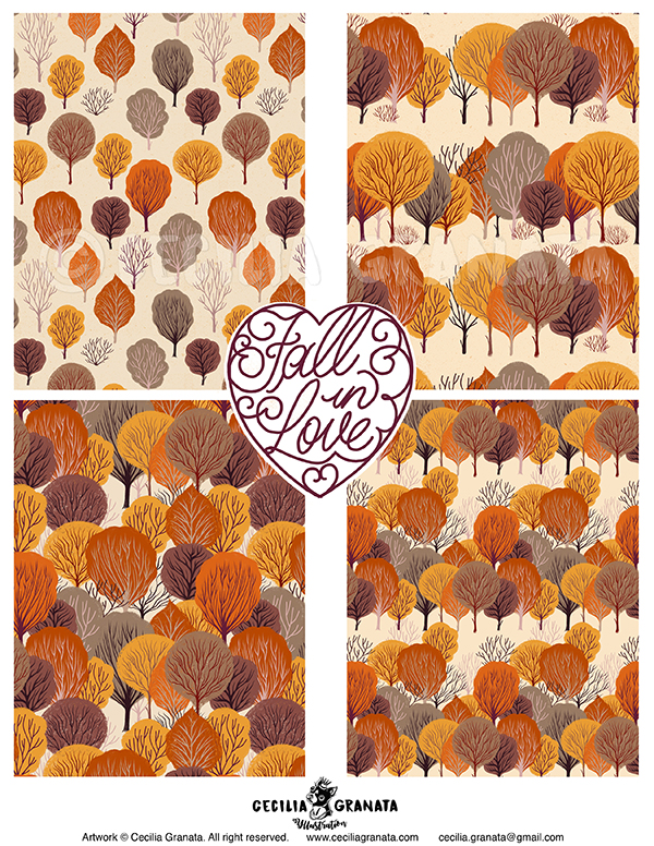 Fall in Love, repeat patterns