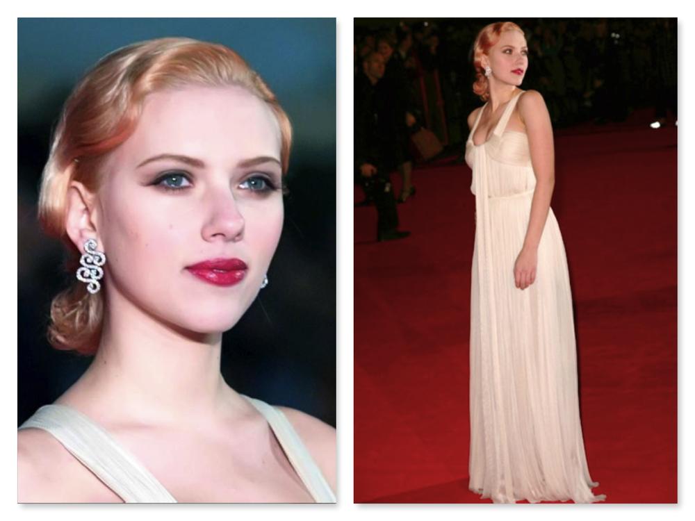 "Scarlett Johansson/Premier ""The Prestige"""