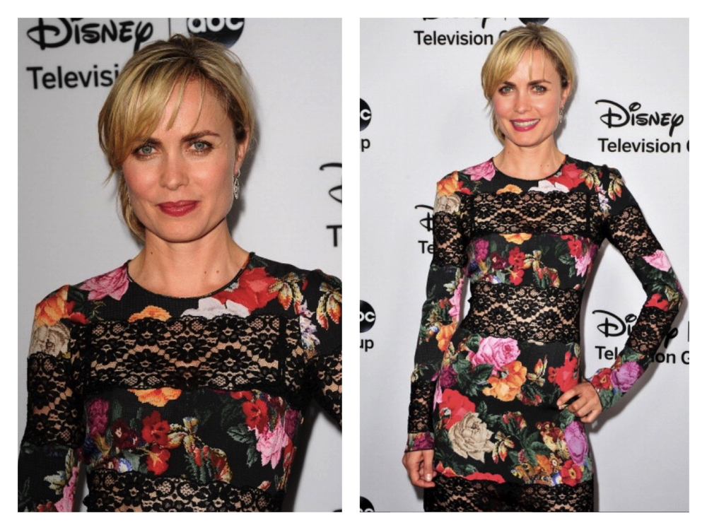 Radha Mitchell/The Red Widow Press Junket