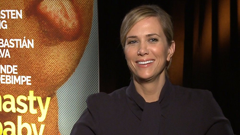 "Kristen Wiig/""Nasty Baby"" Press Junket"