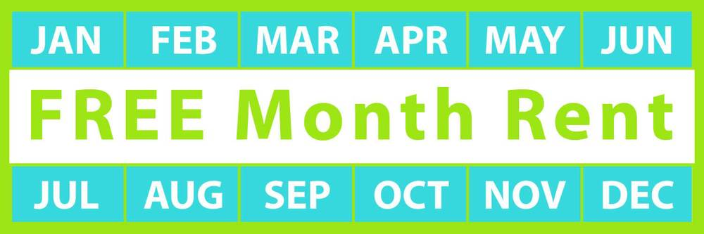 Rent for 6 Months and get the 7th Month FREE!