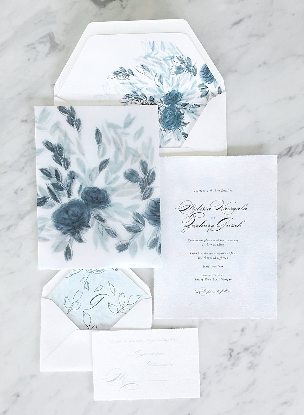 Bespoke Invitations for the hopelessly romantic at heart - wedding invitations that will make your guests gasp with excitement when they open their mailboxes