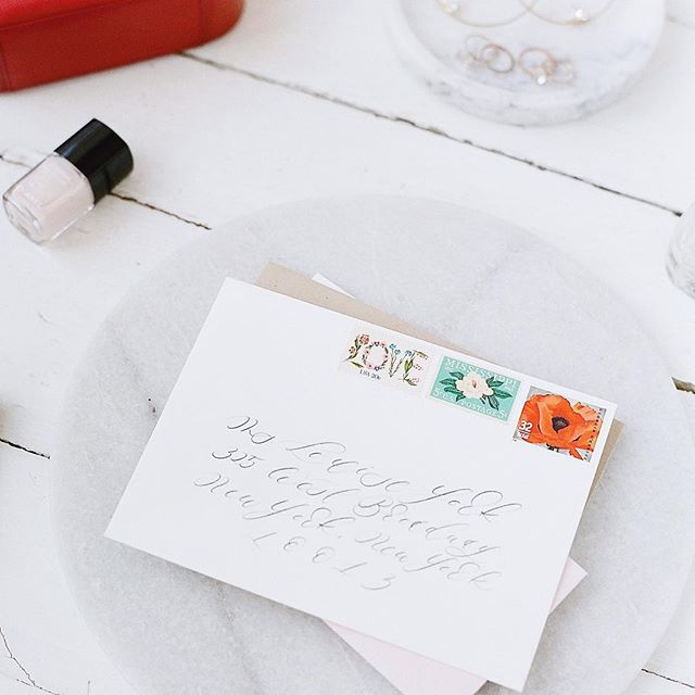 It's the most wonderful time of the year... 💌 To send some snail mail joy. 🐌💌 .. . . . . . . .. #calligraphy #calligrapher #snailmail #dippencalligraphy #calligraphylove #calligraphyart #livecreatively #fineartweddings #soloverly #weddinginspo #postitfortheaesthetic #dailydoseofpaper #fineartcuration #fineartwedding #weddinginspiration #weddingdetails #weddingstationery #weddingcalligrapher #weddingpaper #invitationdesigner #thinkhappythoughts #osbpenvelopes #calligraphyaddict #callipgraphydaily #letteringco #handlettering #typespire #handtype #strengthinletters #letteringartist @preview.app
