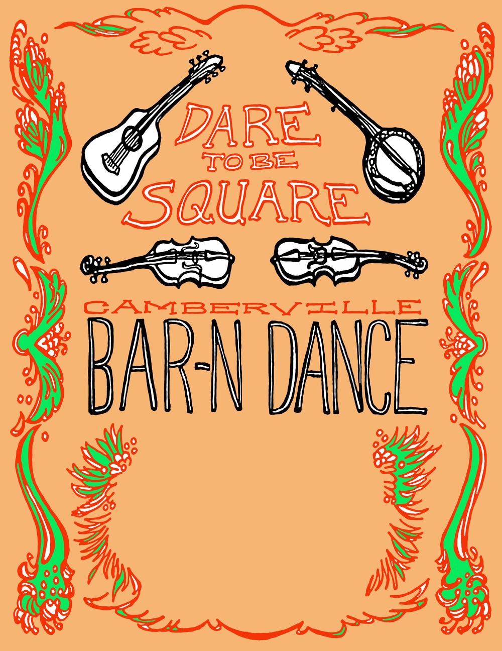 Camberville Bar-N Dance Poster