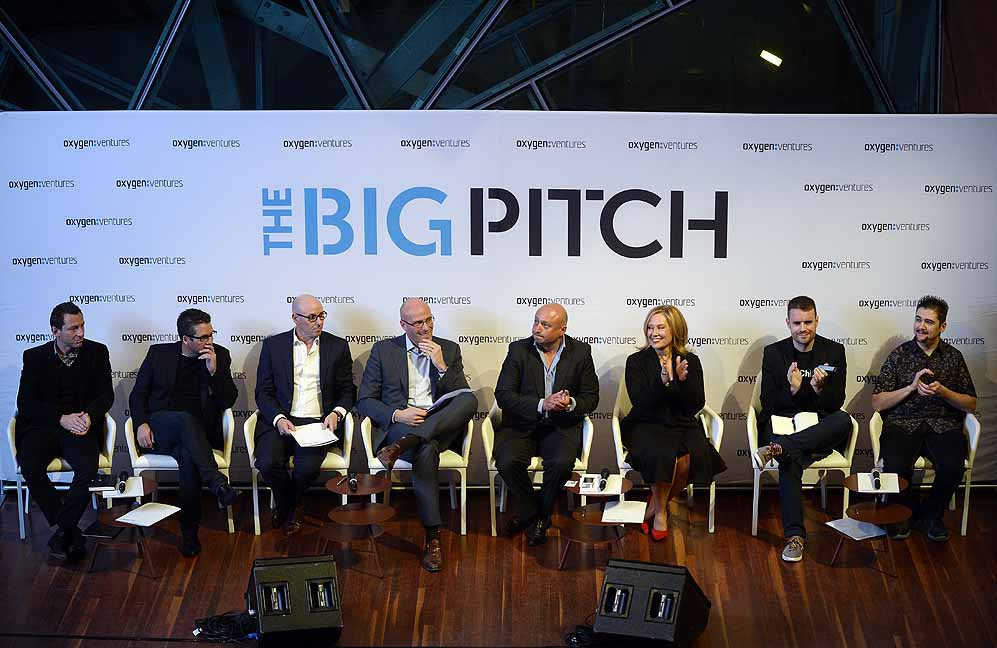 The panel was a daunting prospect, featuring Melbourne's enterprise elite and a lot of business savvy.