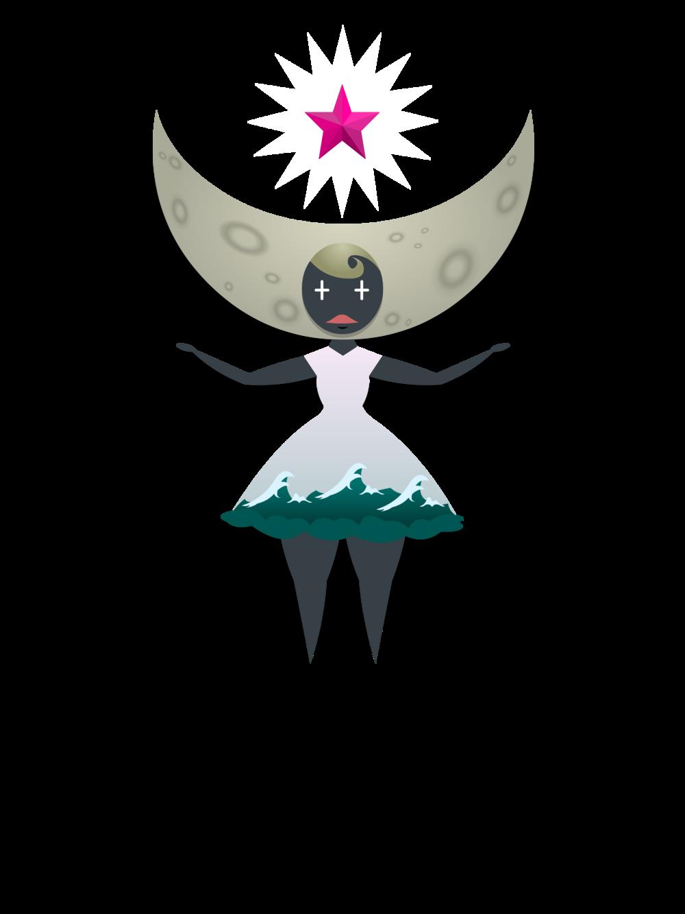 Astrid Moon Princess tee 2.png