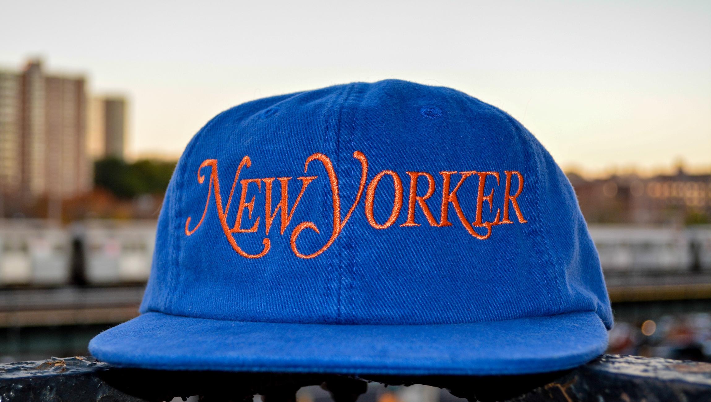 New Yorker baseball cap e5984c1007f