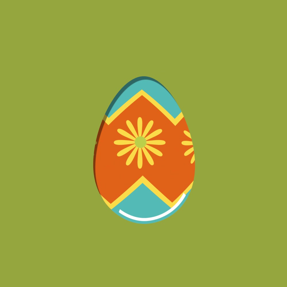 Easter Egg Design - Summer Feel