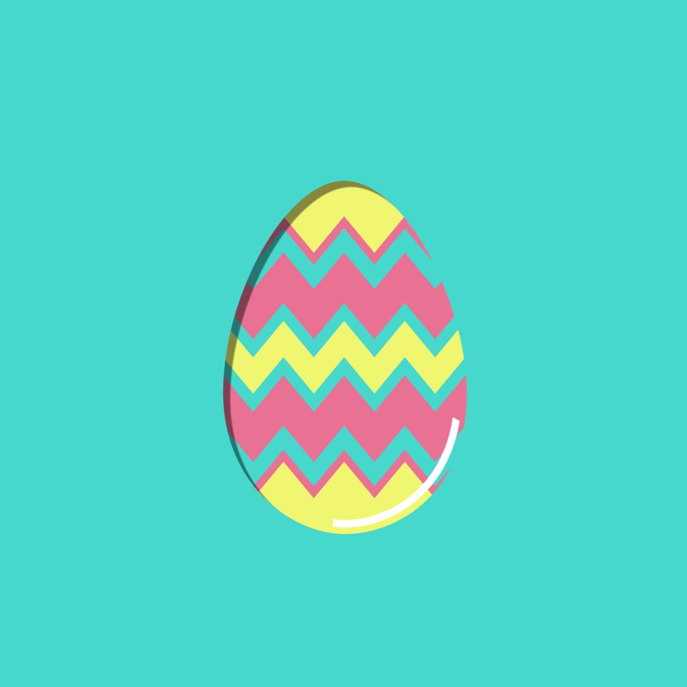 Easter Egg Design - Cool Spring