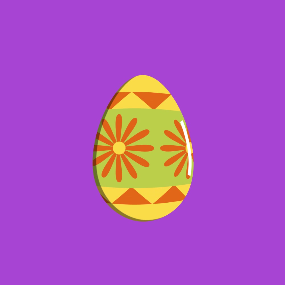 Easter Egg Design - Tropical Easter
