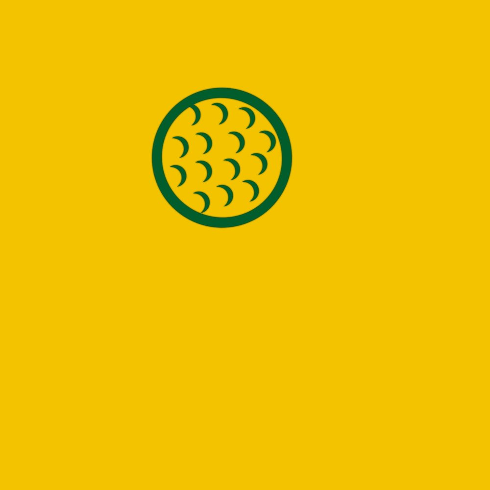 The MASTERS Golf Ball