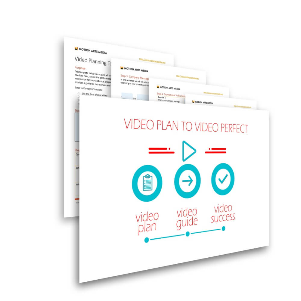Free planning and production template - video plan to video perfect