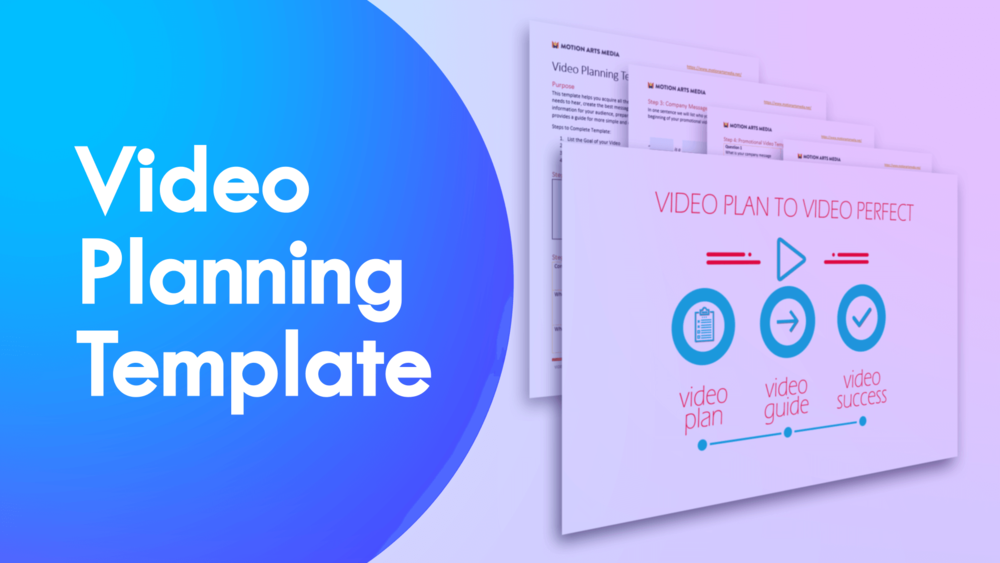 Video plan to video perfect free video planning and production video plan to video perfect free video planning and production template motion arts media motion graphics video marketing after effects templates maxwellsz