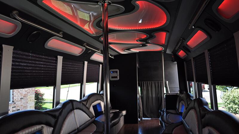 Dallas Area Party Bus