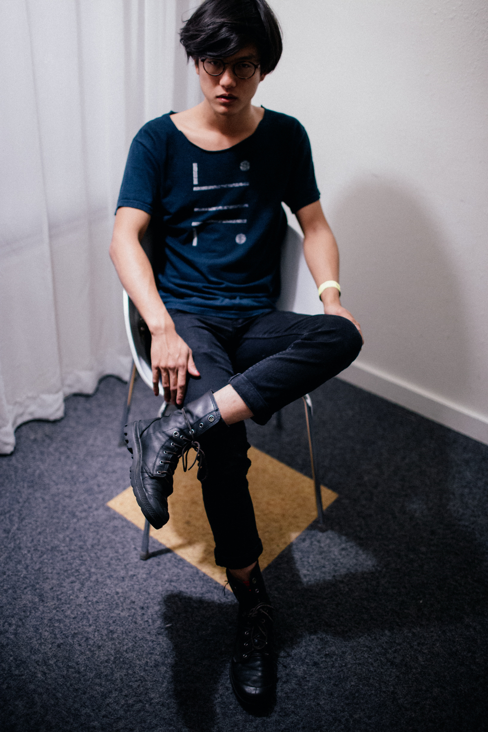 Son Lux drummer Ian Chang