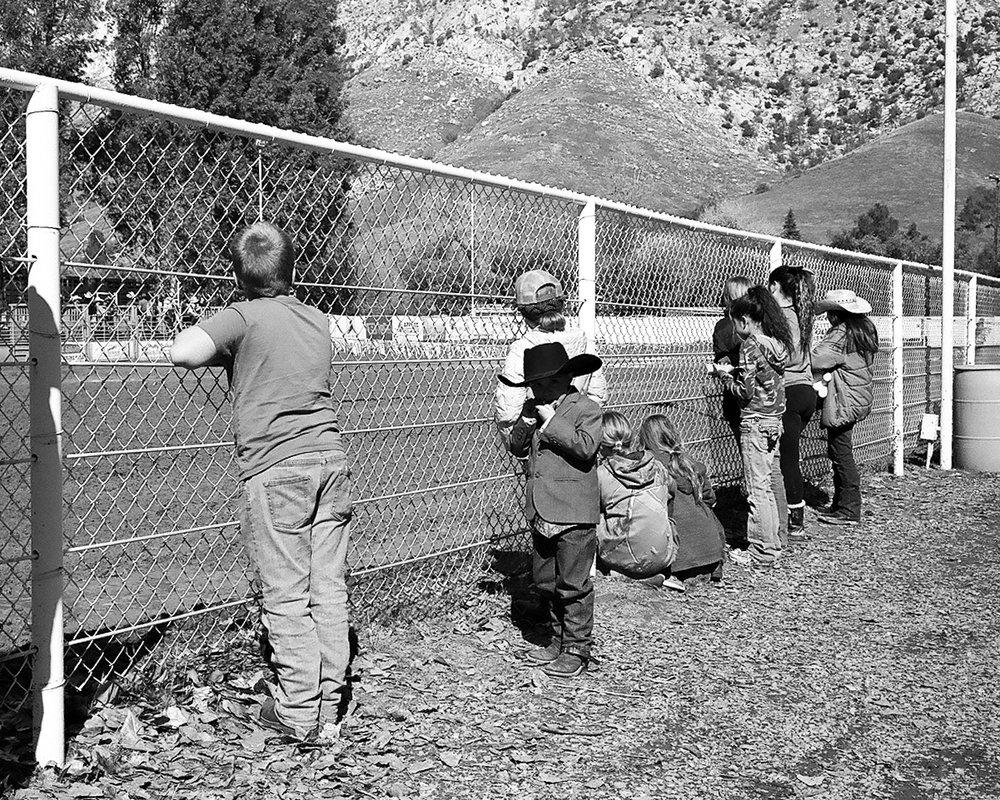 Children at the Whiskey Flat Days