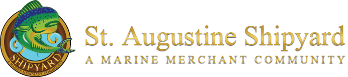 COME VISIT US AT ST AUGUSTINE'S NEWEST AND LARGEST COMMERCIAL DEVELOPMENT JUST SOUTH OF 207 ON US 1, BEHIND DUNKIN DONUTS AND CITGO (GPS: 255 DIESEL ROAD, ST AUGUSTINE, 32084) (http://www.staugustineshipyard.com/)