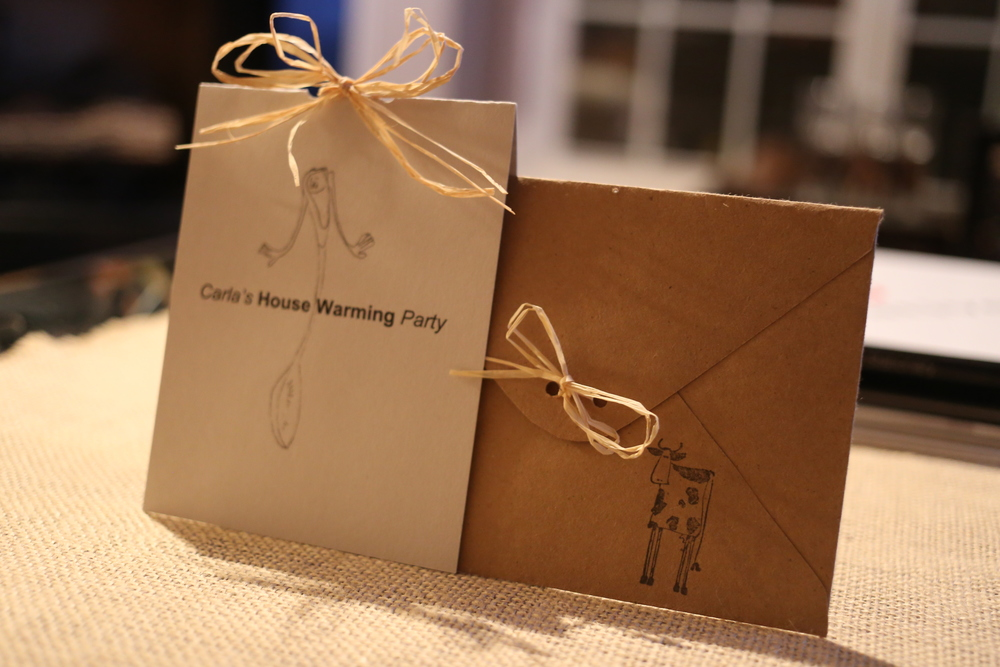 House Warming Invitation - Fold