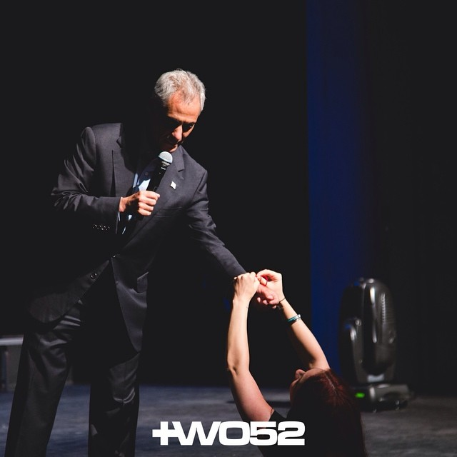 Thank you Mayor Rahm Emanuel for joining the @stringmovement and saying NO to bullying! #YELLIT #two52conf #two52 #two52conference