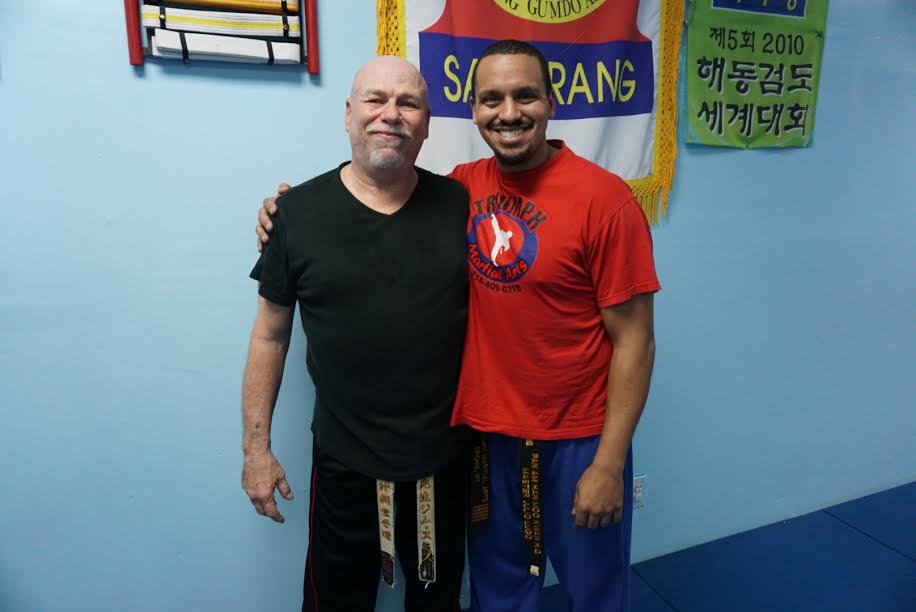 Hanshi Jim Smith and KwanJangNim