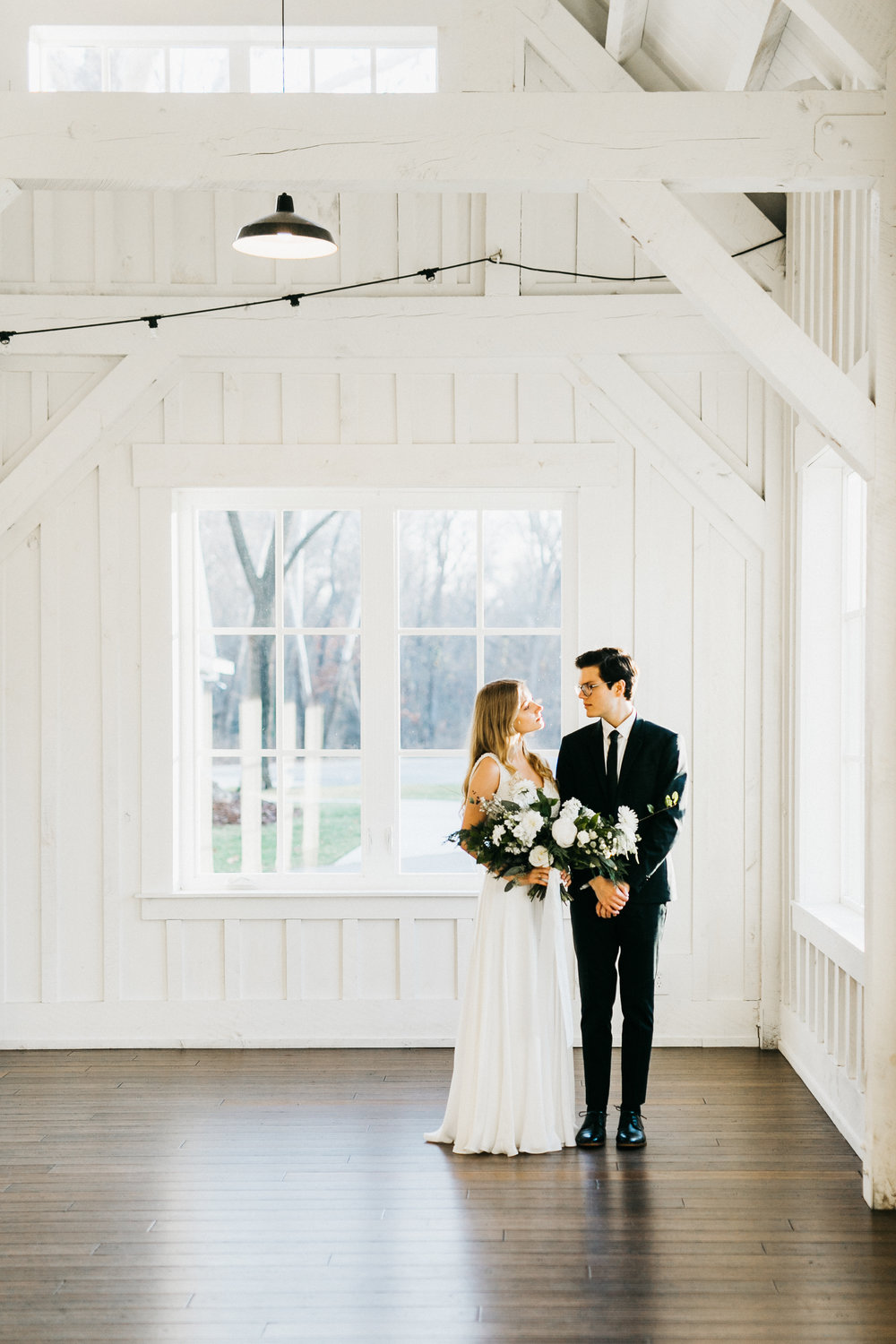 December Elopement on a Monday :  Kailey Watson Photography