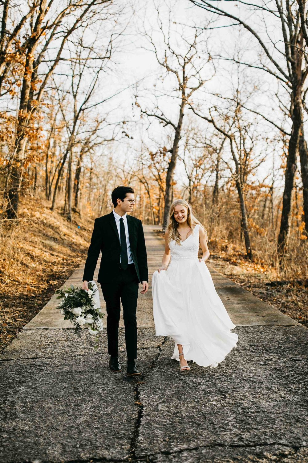 winter elopement - kailey watson photography