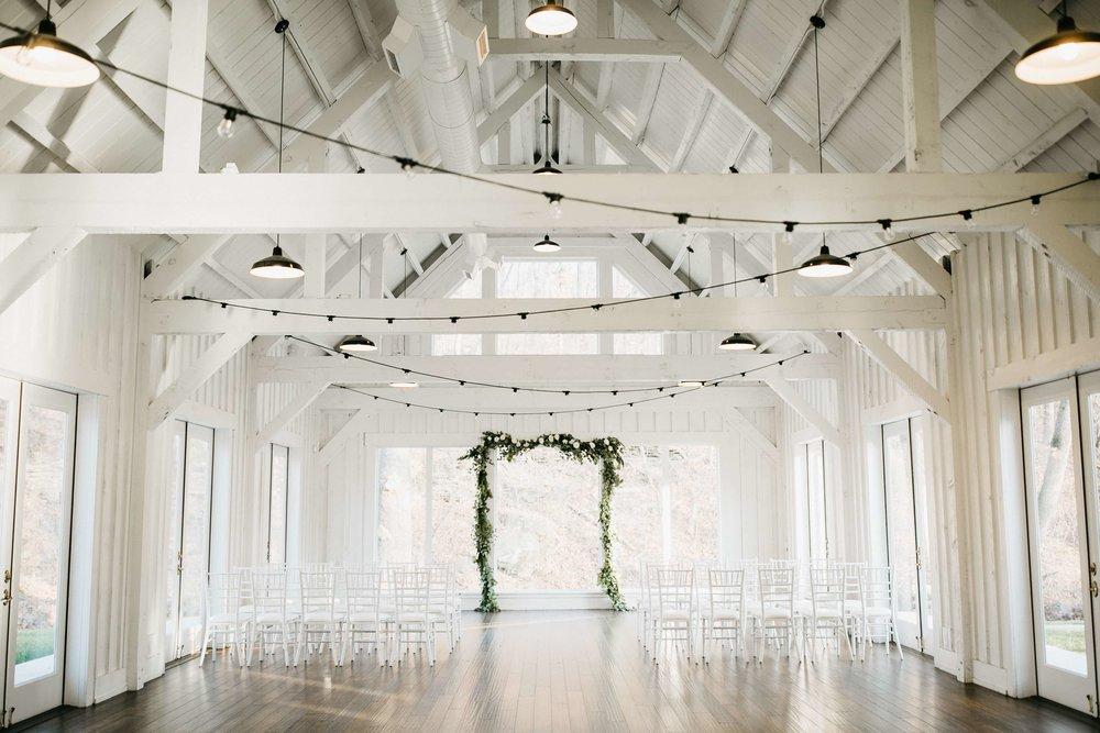 white barn weddings - enter here