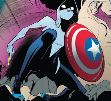 Radioactive Spider-Gwen , written by Jason Latour with art by Robbi Rodriguez.