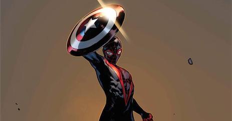 Spider-Man, written by Brian Michael Bendis with art by Sara Pichelli.