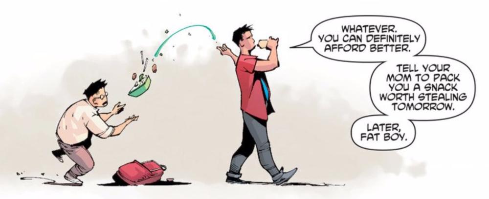 New Super-Man, written by Gene Luen Yang with art by Viktor Bogdanovic.