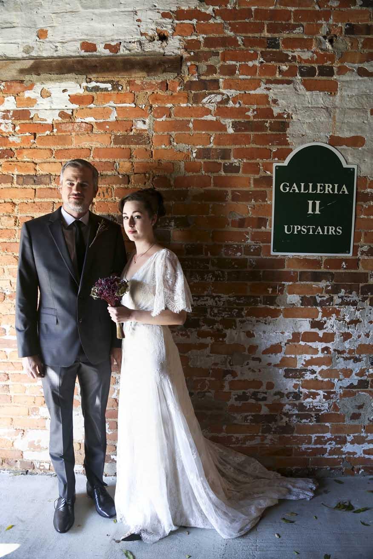 Vintage Wedding Bride and Groom   Graduate Hotel   Athens Georgia