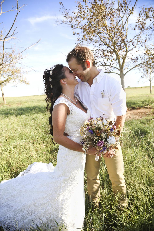 Country Rustic Wedding   Bride and Groom   Morgan County Georgia