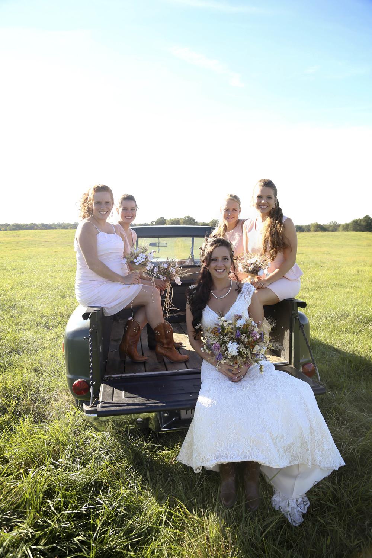 Bridesmaids   Country Rustic Wedding   Morgan County Georgia