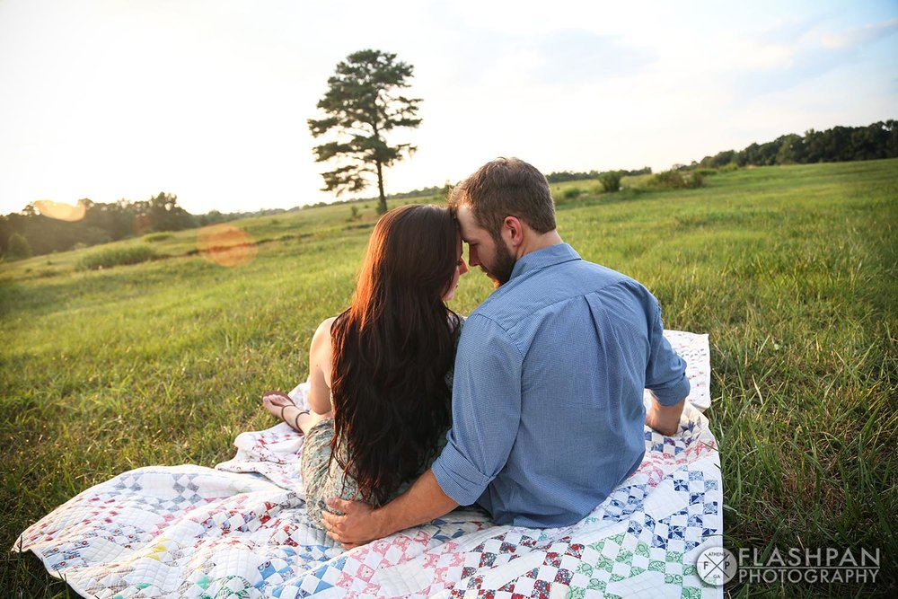 Flashpan Photography | Rustic Engagment Session | Athens, Georgia