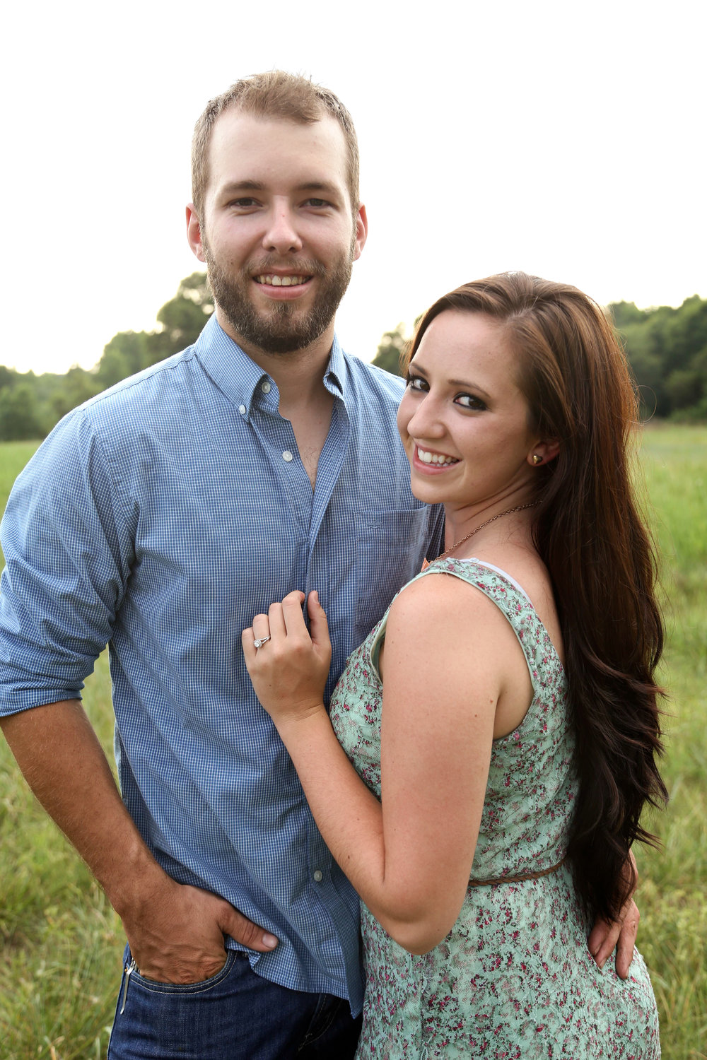 Outdoor Rustic Engagement Session | Athens Georgia