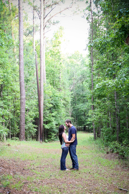 Outdoor Engagement Session | Rutledge, GA