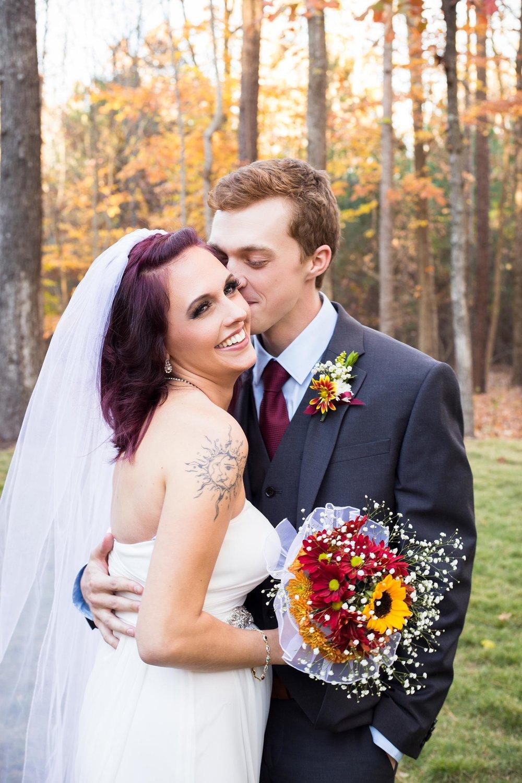 Fall Wedding   The Chapel at Simpsonwood   Norcross Georgia