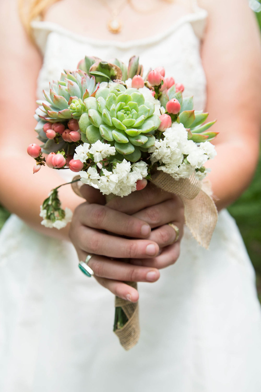 Spring Wedding   Succulent Bouquet   Athens Georgia