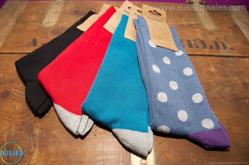 Men's Bamboo Socks from SUSSED