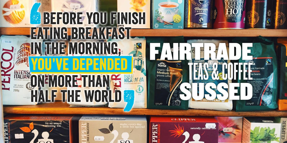 Fairtrade and organic foods at SUSSED