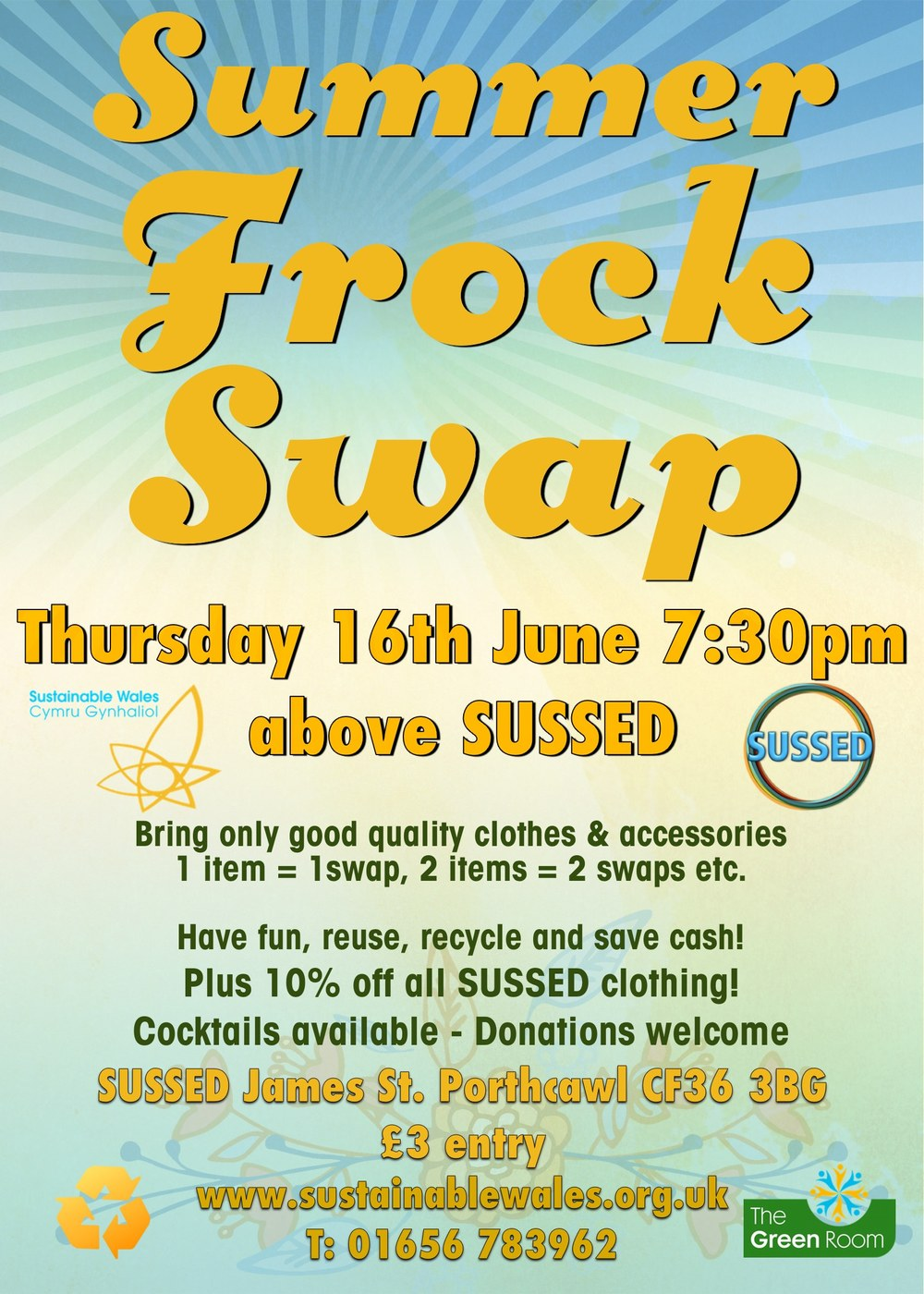 Frock Swap 16th June 2016, Porthcawl