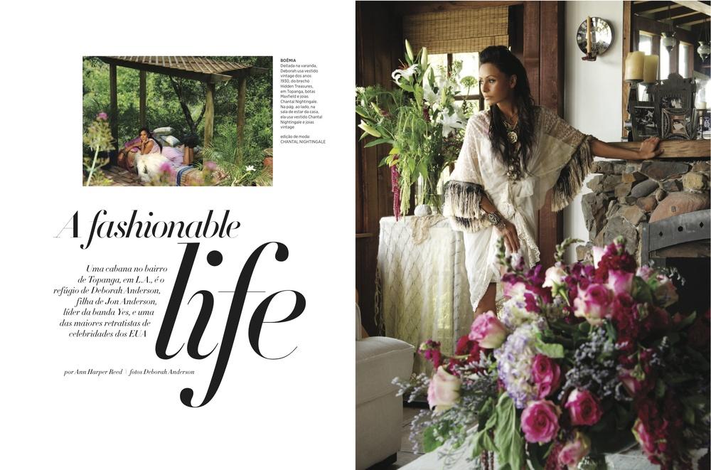 Harpers Bazaar - Brazil  Fashion Editor - Chantal Nightingale