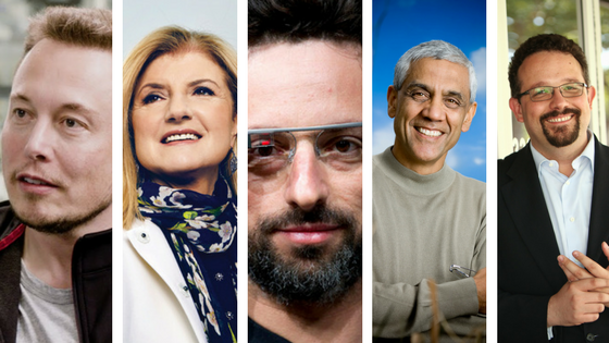 Immigrant Entrepreneurs: Elon Musk, Arianna Huffington, Sergey Brin, Vinod Khosla, And Phil Libin