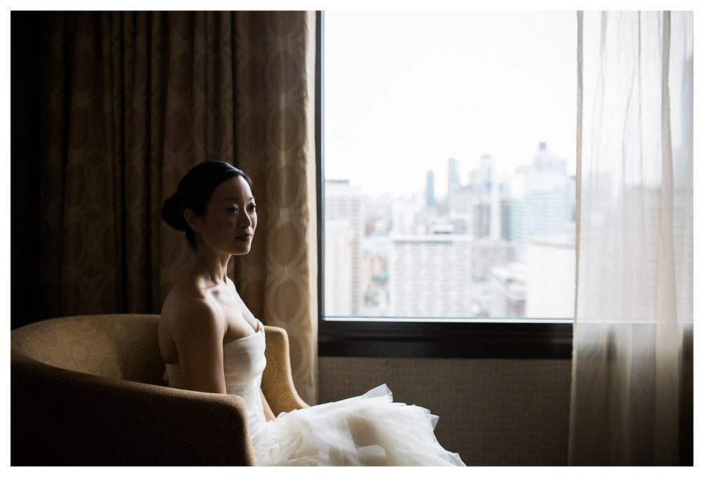 Arcadian Court, Vera Wang, wedding, wedding dress, intimate, bride, urban, classic, Toronto, hotel,