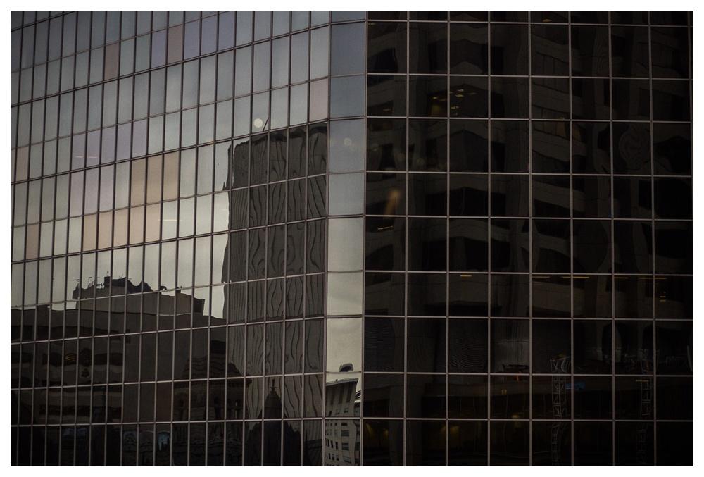 city, wedding, urban, Arcadian Court, building, skyscraper, Toronto, reflection, full moon