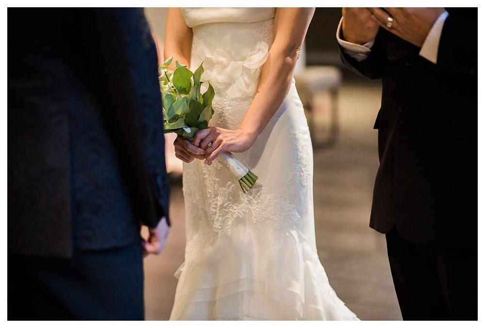 wedding, wedding dress, urban, classic, modern, intimate, Vera Wang, flowers, bouquet, Sham's Florist, elegant, simple, ceremony