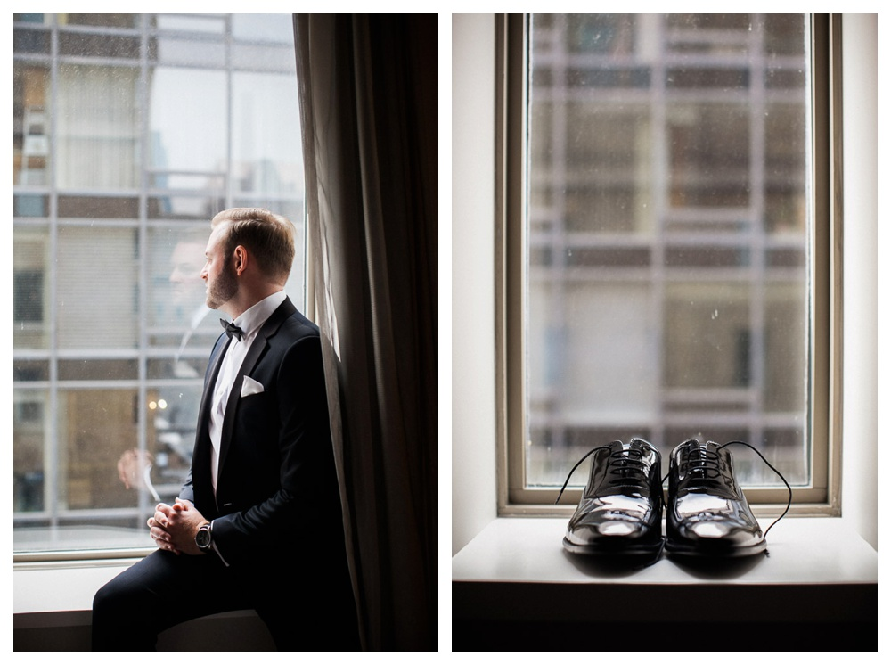 White Toronto, luxe, wedding, Gardiner Museum, 99 Sudbury, Ashley Lindzon, groom, Hugo Boss, Indochino, wedding day, wedding shoes,