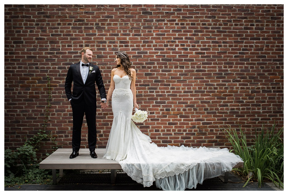 White Toronto, luxe, wedding, wedding dress, Gardiner Museum, 99 Sudbury, Ashley Lindzon, wedding dress, Inbal Dror, Indochino, Hugo Boss, bride and groom, International Florist, wedding flowers,